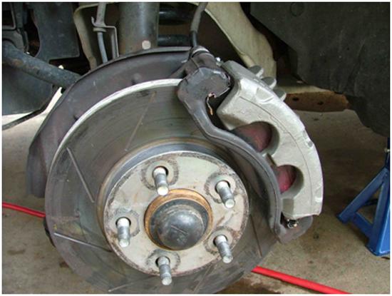 Hawk Street Front Brake Pads 9904 11