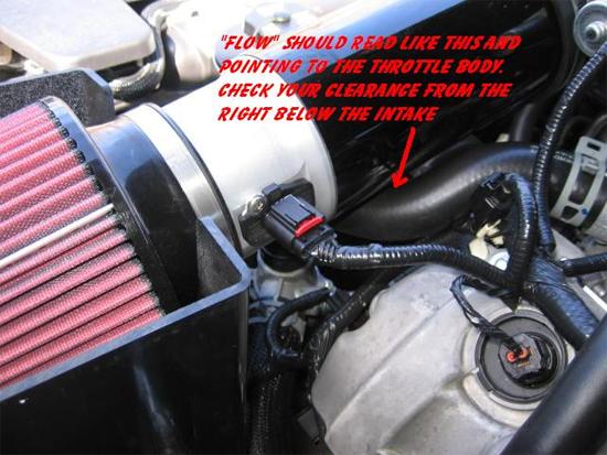 Reattache MAF Wiring Harness