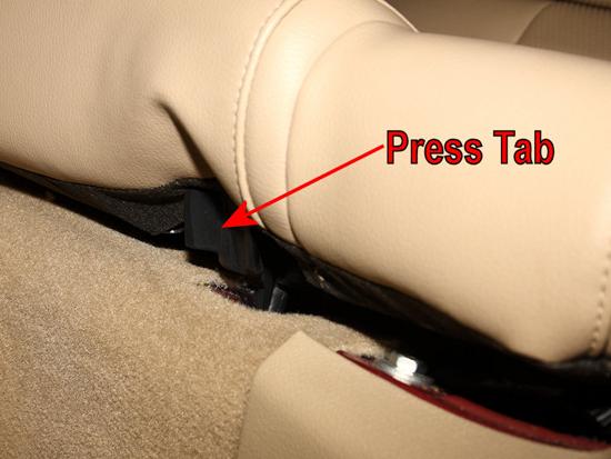 Remove Rear Seat