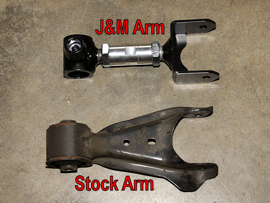 Remove Stock Front Control Arm