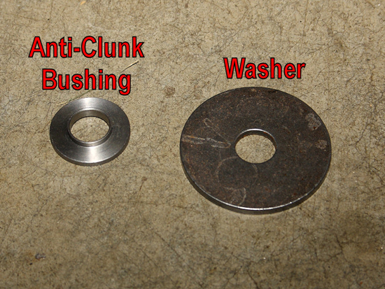 Washer and Anti-Clunk Bushing