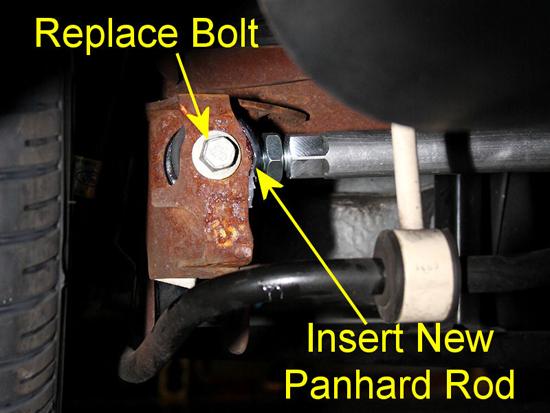 J&M Mustang Panhard Rod 0509 13