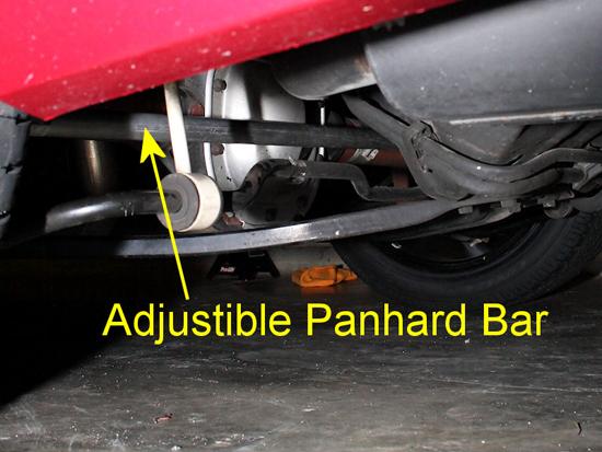 J&M Mustang Panhard Rod 0509 19