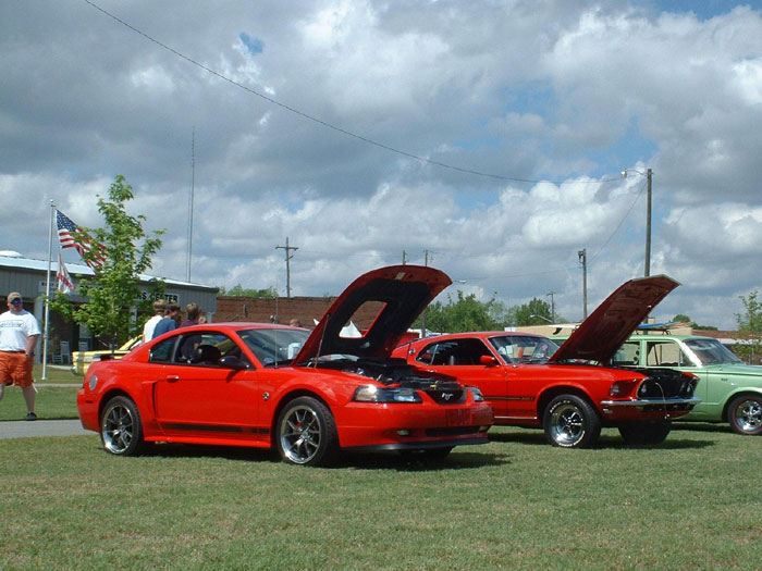 Torch Red Mach 1's Old and New