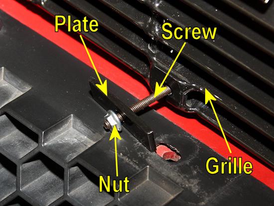 Billet Grille Screw & Nut Assembly