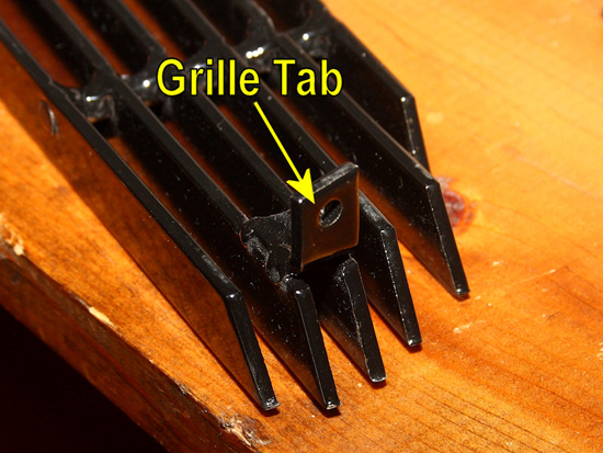Identify Screw Tabs