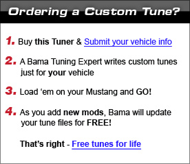 Ordering Custom Tunes
