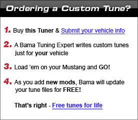 Ordering Custom Tunes