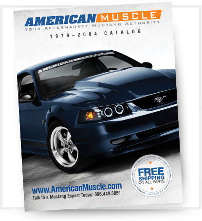 AmericanMuscle 1979-2004 Mustang Parts Catalog