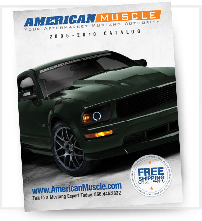 AmericanMuscle 2005-2011 Mustang Parts Catalog