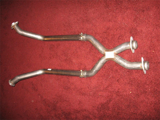 Assembled X-Pipe