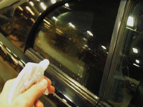 Mustang Quarter Window Decals 1