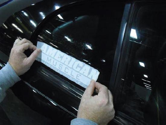 Mustang Quarter Window Decals 3