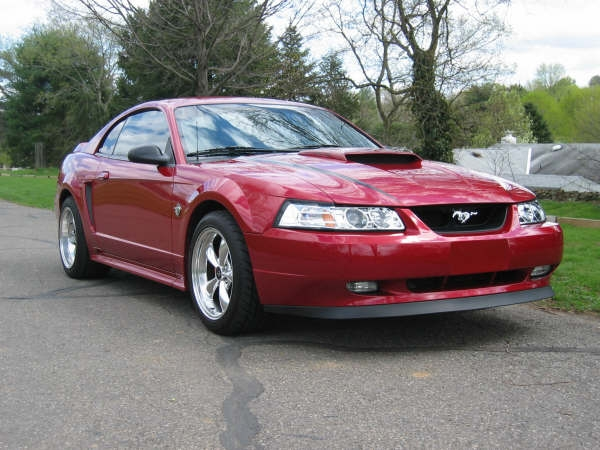 1999 Burgandy Mustang GT