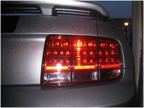 After Right Tail Light