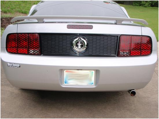 Honeycomb Mustang
