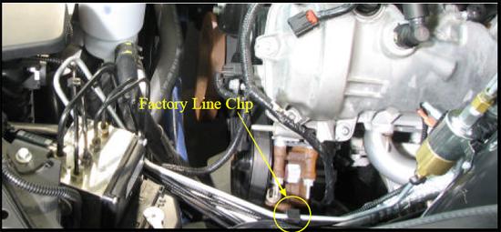 SLP Brake Line Lock (07-09 GT 07-08 GT500) 5