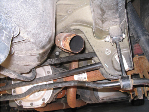 Stock Mustang Axleback Removed