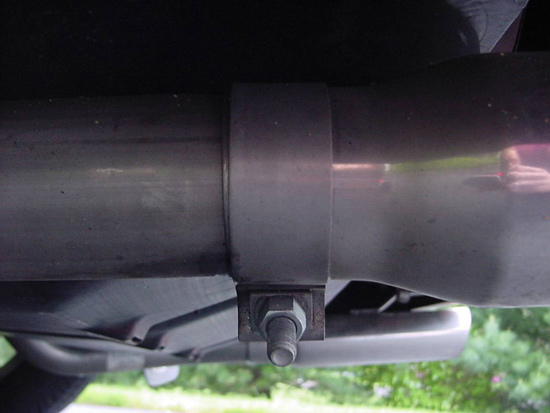 SLP Loudmouth Exhaust Installation - Image 01