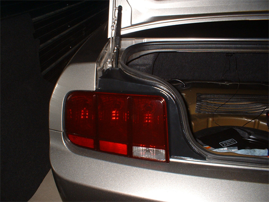 Smoked Mustang Taillights 9