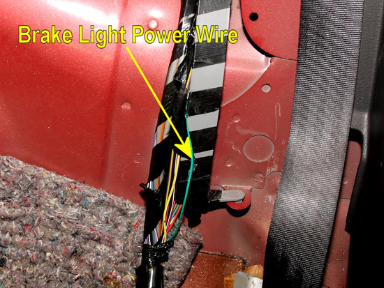 Splice In Mustang Lightbar Switch 8