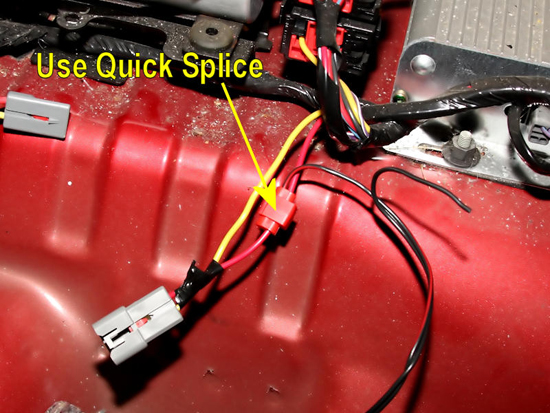 Splice In Mustang Lightbar Switch 16