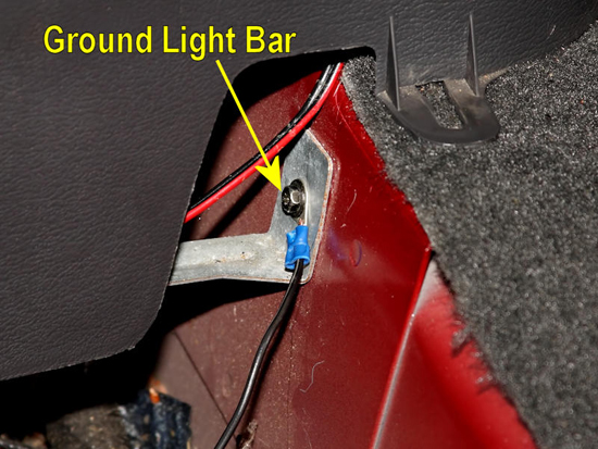 Splice In Mustang Lightbar Switch 19