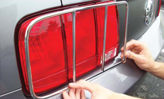 Chrome Taillight Trim 05094