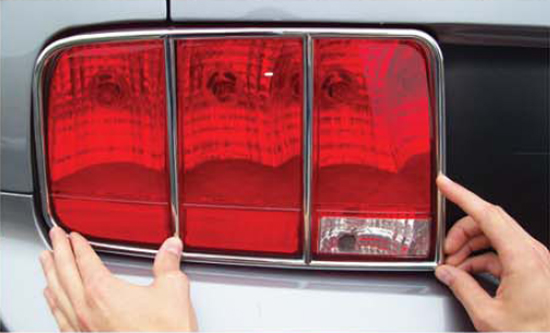 Chrome Taillight Trim 05095