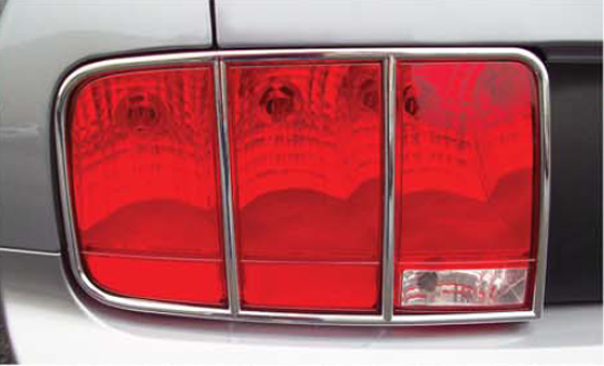 Chrome Taillight Trim 05096